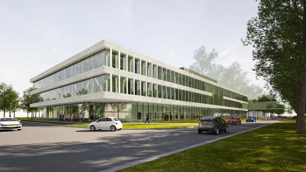 Nieuwbouw Laboratorium Differ TU Eindhoven