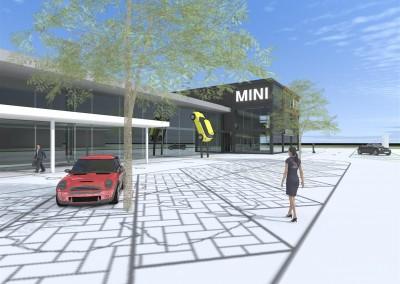 Verbouw en uitbreiding BMW/MINI Den Haag