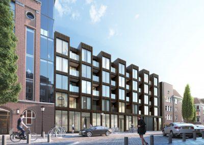 Transformatie en Nieuwbouw Karel du Jardinstraat 61-67 Amsterdam