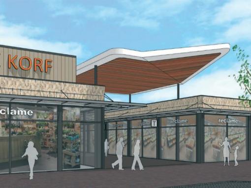 Renovatie winkelcentrum De Korf Krimpen ad IJssel