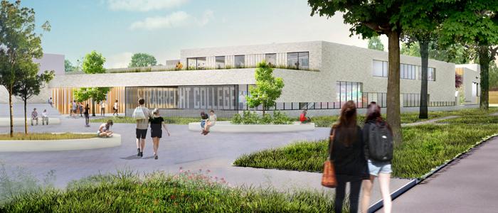 Nieuwbouw Strabrecht College Geldrop