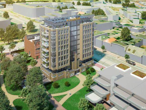 Nieuwbouw 29 appartementen en renovatie Het Badhuis te Hengelo