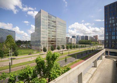 Nieuwbouw onderzoeksgebouw VU te Amsterdam